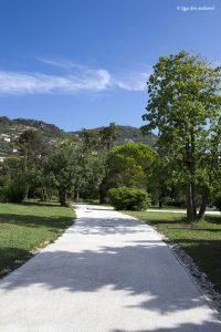 La passeggiata e i parchi di Nervi