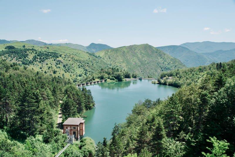 Lago di Pian Sapeio