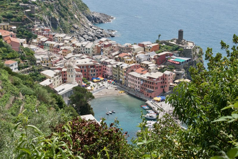 Escursione da Monterosso a Vernazza, lungo il Sentiero Azzurro