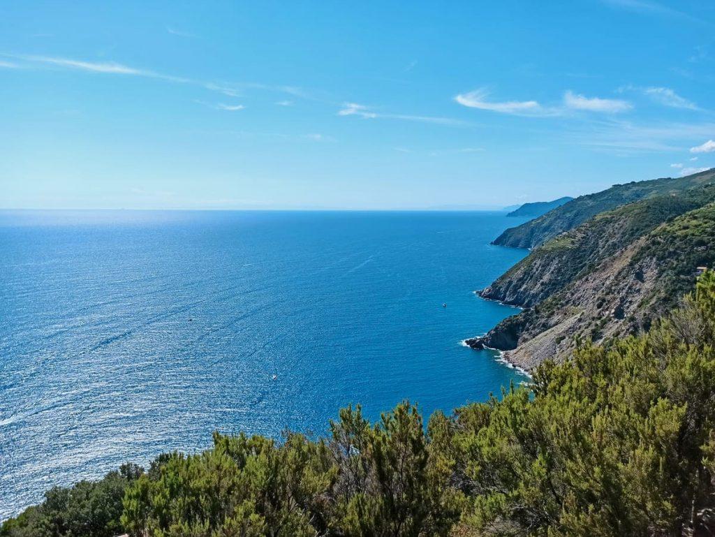 Il panorama sulla Costa dei Tramonti